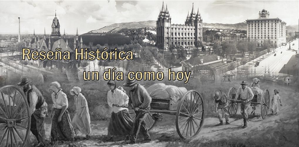 Reseña Histórica, un día como hoy