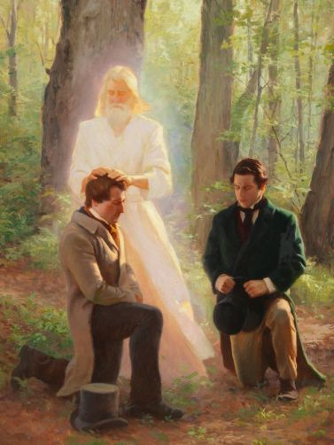 Juan el Bautista ordena a Jose Smith