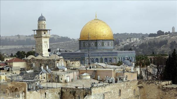 El lugar del templo en Jerusalén, con la