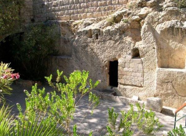 La tumba del Jardín, donde probablemente