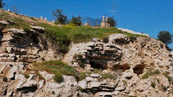 Lugar reverenciado como Monte del Calvario, donde Jesús fue crucificado