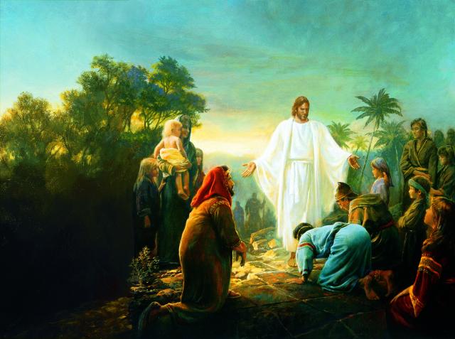 christ_visiting_the_nephites_olsen